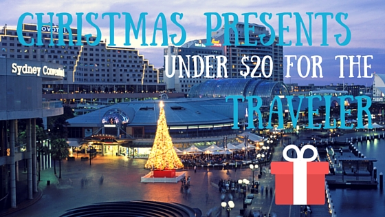 Christmas Presents under $20 for the Traveler