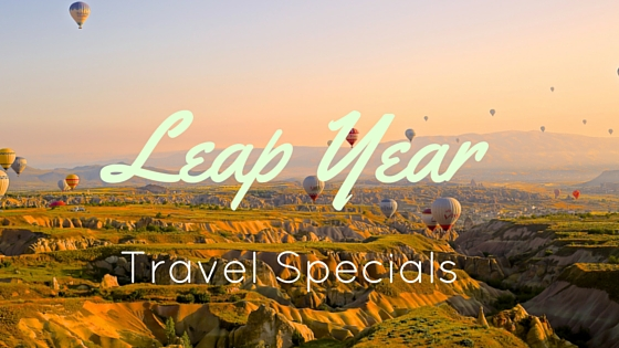 Leap Year Travel Specials