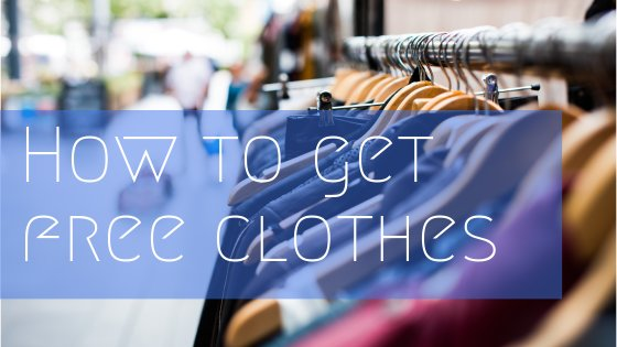 How To Get Free Clothes