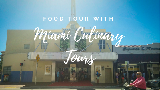 Food Tour with Miami Culinary Tours