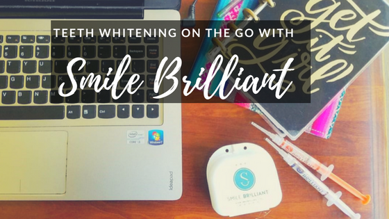 Teeth Whitening On The Go with Smile Brilliant